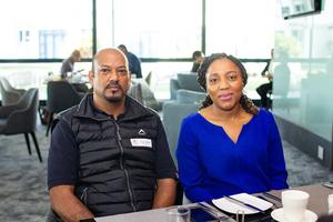 Kuben Naidoo & Brenda Silela (The Pavilion)