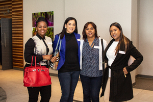Zola Madondo(Mustard Seed), Nisha Sanichur, Eshara Naidoo(Excellerate JHI) & Kerisha Govender(Mustard Seed)