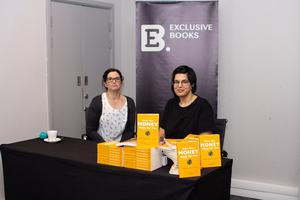 Sejal Nathoo & Colette Summer-Lee (Exclusive Books)