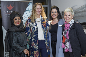 Faizah Behardien(Excellerate/JHI), Gayle Momsen(Queenspark), Andreana Holmes (The Blue Room), Joanne Boswell(Spire Property Management)