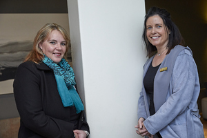 Madelein van den Berg(Rabie Property Administrators), Andreana Holmes(The Blue Room)