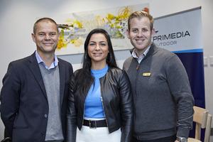 Danie van Aswegen, Jorja Wilkins(Primedia Outdoor), Nicholas Rix(Excellerate/JHI)