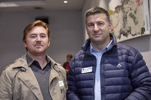 Shawn Gravell( SVA Architects), Christiaan Visser (Hungry Lion)