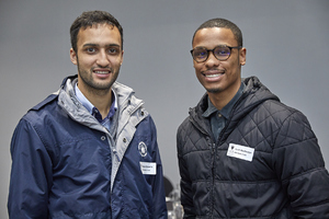Migyle Stevens, Curtis Rooibaatjie(V & A Waterfront)