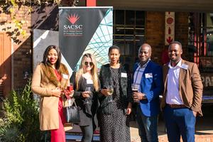 Nonku Ngobese, Genevieve Coward, Nandipha Dubula, Trust Masarirambi (Primedia Outdoor) Tebogo Makgalemele (Redefine)