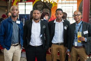 Masilo Mphaho, Vukani Majozi, Vusi Ndlovu, Hamilton Zwane (Vukile Academy)