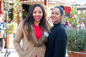 Nonku Ngobese (Primedia Outdoor) Rashida Abrahams (Redefine)
