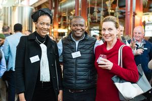 Mamphake Rachidi (Total SA) Ervine Kekana (Pick n Pay) Linda Christensen (Total SA)