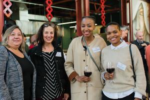 Sonia Rudman, Lisa Crossley (Commercial Exchange), Charmaine Mphahlele (PIC) Lerato Mphahlele (Pula Consultants)