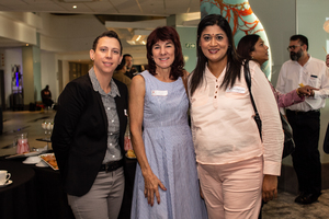 Michelle Gerber, Thelma Zietsman (Growthpoint Properties) Pria Bhagwandin (ExcellerateJHI)