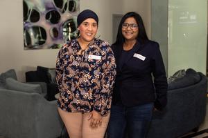 Sumaya Goldstone, Avril Marimuthu (Spire Property Management)