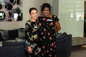 Candice Downs, Sandra Reddy (Growthpoint Properties)
