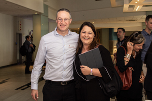 Neil Schloss (Growthpoint Properties) Antoinette Joubert (MRP Group)