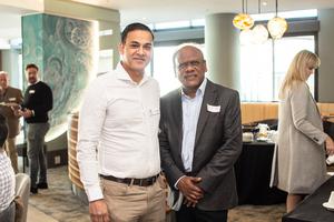 Akash Maharaj (ExcellerateJHI), Vivien Reddy (Edison Property Group)