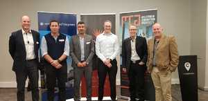 Paul Gerard (Flanagan & Gerard), Roger Newman (Strath Eden), Nad Shahid (Urban Lime), Neil Schloss (Growthpoint Properties), David Rice (Redefine), Tony Whitfield (MCA Architects)