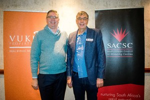 Johann Pretorius (Vukile Property Fund) Willem Strydom (Remote Metering Solutions)