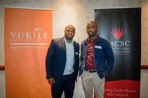 Vukani Majozi, Masilo Mphaho (Vukile Property Fund)