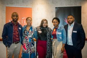 Masilo Mphaho, Mihlali Magengelele, Waseema Lombard, Nelisiwe Nene, Vukani Majozi(Vukile Property Fund)