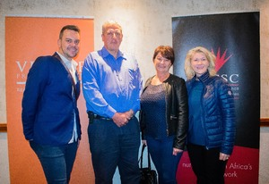 Pierre Botha, Barend Steyn, Rochele de Canha, Petra Foord (Excellerate JHI)