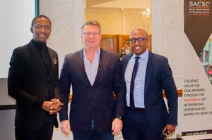 Sedise Moseneke (Vukile Property Fund)Phil Barttram(MSCI)Itumeleng Mothibeli(Vukile property Fund)