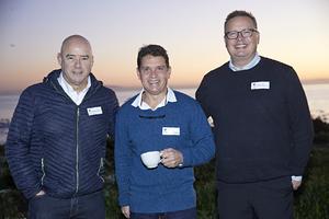 Ross Bannatyne, Craig Coetzee(Spar), Gavin Jones(Growthpoint)