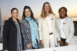 Michelle Britton(Redefine), Andreana Holmes(The Blue Room), Gayle Momsen(Queenspark), Amanda Dilima (V & A Waterfront)
