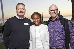 Gavin Jones(Growthpoint), Amanda Dilima(V & A Waterfront), Graham Brookman(GVK-Siya Zama)