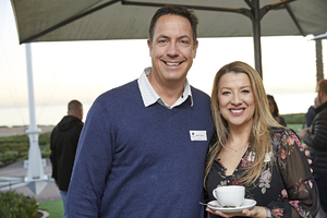 Brett Exner(Woolworths), Lisa de Boer( Growthpoint)