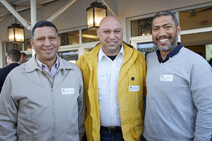 Johannes Mouton(NTI Solutions), Khalied Jacobs(MLC Group), Marlon Parring(NTI Solutions),