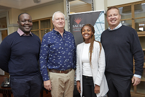 John Chapman(Rabie Property Group), Amanda Dilima(V & A Waterfront), Gavin Jones(Growthpoint)