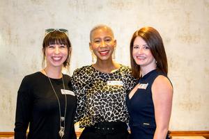 Karen Pennington - Flanagan & Gerard, Nandipha Dubula - Primedia Outdoor, Aileen Rodel - Creative Tension
