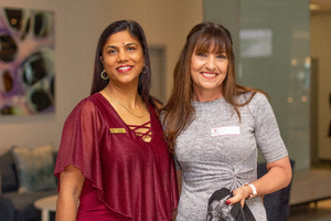 Rebecca Khan (ExcellerateJHI) & Hayley Taylor (Absa)
