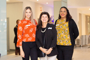 Lisa Folkard, Michelle Christian (The Pavilion) & Natasha Quarrie (Broll)