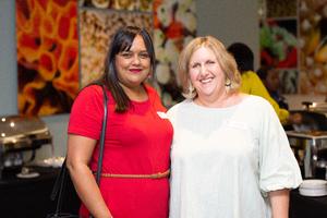 Rozana Maharaj (Broll) & Tina Mather (Mr Price group)