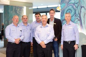 Justin Mazoue, Anton Diedericks, Anthony Feuilherade & Derek Lategan (Excellerate Services)