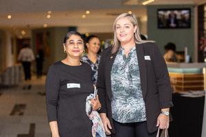 Shaira Ismail (ExcellerateJHI) & Jennifer Hillier (McDonalds SA)