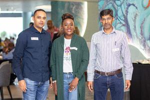 Arrif Shaik, Sphume Khuzwayo & Omar Khan (Broll)