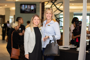 Michelle Shelley (Excellerate Brand Management) & Lara Gracie (Broll)