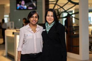 Natasha Pieri (ExcellerateJHI) & Lene Wessels (Local Finance Investment Corporation)