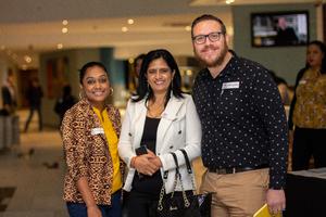 Samantha Naicker, Shakilla Butharam (Absa)& Donald McLellan (Broll)