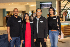 Kuben Naidoo, Claudia Moodley, Umesha Haribhai & Nicole Gounden (The Pavilion)