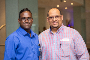 Levy Nair (CPA Security) & Feysel Potgieter (Excellerate JHI)