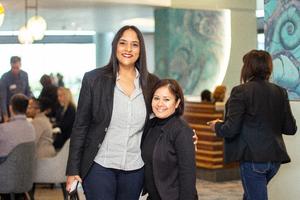 Shetal Boodhun (Bogart Man) & Ayesha Sewbaran (Excellerate Brand Management)
