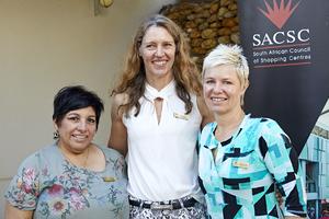 Brenda Bibby (Excellerate JHI), Gayle Momsen (Queenspark), Joanne Boswell (Spire Property)