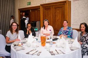 Anelda Barnard (Moolman Group Developments) TsholofeloSiamisang (Absa) Romana Fouche (Advance Parking) Jenny Carazzo, Lisa Crossley (Commercial Exchange)