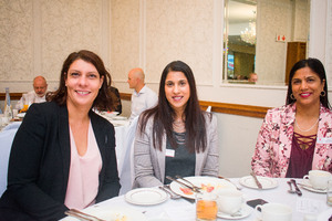 Eileen Andrew (MSCI) Nirosh Moodley, Rubecca Khan (Hyprop Investments)