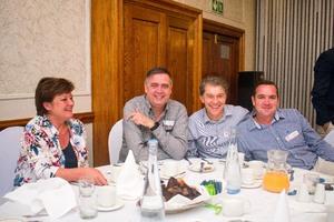 Estelle Grobler, Johann Pretorius, Manny Queiros, Ormond Vosloo (Vukile Property Fund)