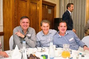 Johann Pretorius, Manny Queiros, Ormond Vosloo (Vukile Property Fund)