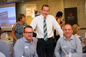 Jacques Bedeker, John Loos, Riaan de Bruyn (FNB Commercial Property Finance)
