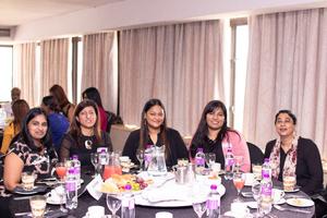 Bottom: Kalpana Ramsamy (Excellerate JHI), Minoli Chetty, Ronael Seyambu, Tasmia Dayaram (Excellerate Brand Management), Shaira Ismail (Excellerate JHI) Top: Sophia Naidoo (Excellerate JHI), Michelle Shelley, Jason Pietersen (Excellerate Brand Management)